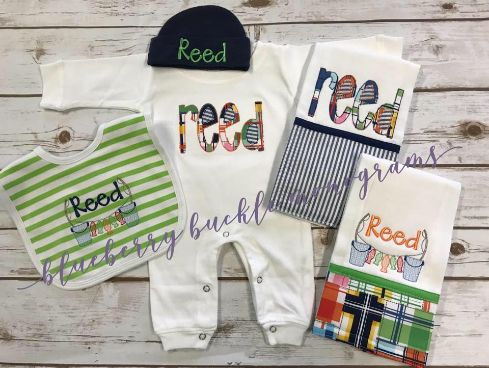Newbown Boy Romper Gift Set